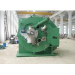Small Solid Remove Vacuum Leaf Filter / Green Centrifugal Solid Liquid Separator for sale