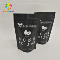Resealable Foil Pouch Packaging Stand Up Body Sugar Scrub Sea Salt Bags Heat Seal for sale