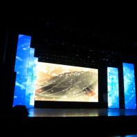 Advertising Mobile Led Screen Stage Backdrop SMD P6 Rental Outdoor Ultra Clear for sale