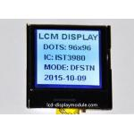 DFSTN Negative 96 x 96 LCD Display Module White LED 22.135mm * 22.135 mm Viewing for sale