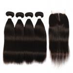 China Short Hair Loose Wave Malaysian Hair Unprocessed Virgin Hair Bundles for sale