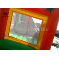 China Rainforest theme 0.55mm PVC Funny Inflatable Jumping Castle For Children / Adult supplier