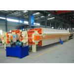 Fully Automated Filtration Filter Press ≥0.6MPa Filter Pressure High Efficiency for sale