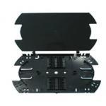 Black Color Plastic Fiber Optic Tray 16 / 32 Fibers High Performance for sale