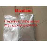 China CAS Number 40054-69-1 Formula C17H15ClN4S Etizolam Research Chemical Powders White Color for sale