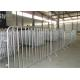 China traffic road barrier galvanized pvc coated crowd control barrier  customized metal concert outdoor high proformance for sale