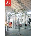 Creative Aluminum Square Stage Lighting Truss Pentagram / Heart Shape For Wedding for sale