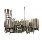 20HL 3 Vessel Brewhouse Heated By Steam Fabricated By SS304 For Mashing Process for sale