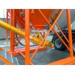 Silo Accessory Screw Conveyor 45t/h 168mm Diameter