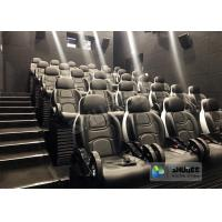 China Novel Motion 5D Cinema Equipment With Luxurious Armrest Seats 2 Years Warranty for sale