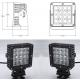 China 80 Watt Vehicle LED Work Lights with Die Casting Aluminum Body IP68 for sale