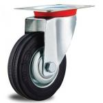 China 4'' rubber  Caster Wheels for trolley for sale