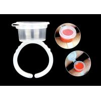 China Clear Plastic Permanent Makeup Tools With Cap Individual Package for sale