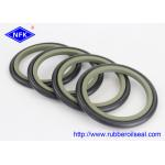 NBR PTFE Buffer Hydraulic Rod Seals , High Pressure Hydraulic Seals GS5059-V6 HBTS for sale