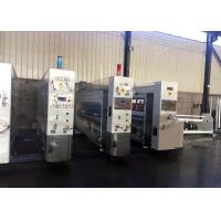 China Computer Control 2000 mm Automatic  Corrugated Paperboard Flexo Printing Slotting Machine supplier