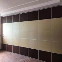 Acoustic Movable Divider Folding Partition Walls For Office , Conference Hall And Hotel for sale