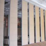 Durable Aluminum Folding Partition Walls , Sound Absorbing Room Dividers for sale