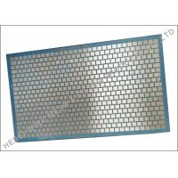 Durable National D380 Shaker Double Deck Screen Blue Hexagonal Pattern for sale