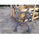 Antique OutdoorCast Iron Bench Ends For Garden Chair , Iron Park Bench Ends for sale