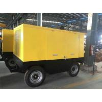 EYC-250A Mobile Diesel Engine Screw Air Compressor 250KW 340HP Low Noise Silent Type Compressors for sale