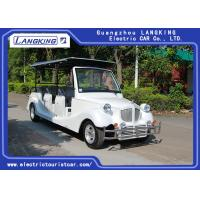China 11 Passenger Electric Vintage Cars / Mini Battery Powerd Bus With 72V AC System Left Steering for sale