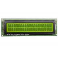 China Positive Dot Matrix LCD Display Module With English - Japanese Controller IC for sale