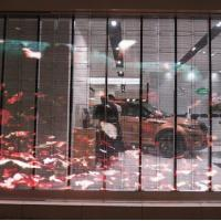 Digital Transparent Led Wall / Led See Through Screen SMD Full Color for sale