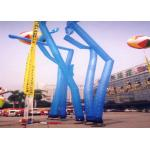 Flame Retardant Inflatable Air Dancing Blow Up Advertising Man With Blower for sale