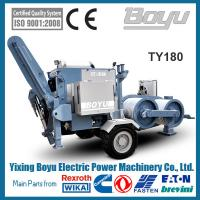 China 190kn Overhead  Hydraulic Pulling Machine With Groove number 10 Engine Cummins for sale