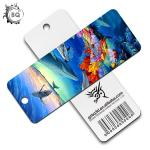 Plentiful Designs Deep 3D Lenticular Bookmark / Personalized Picture Bookmarks for sale