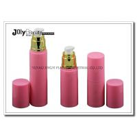 On The Way To The Bottle Injection Section In The Pink Gold Plating Airless Dispenser Bottles for sale