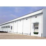 Industrial steel structure workplant building with concrete wall for sale