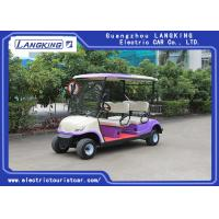 China Electric Club Car / 4 Passenger Golf Cart With 48V Battery CE Certificated with roof for sale