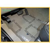 China Acrylic Glue Auto Carpet Protection Film Clear Plastic Carpet Protective Shield for sale