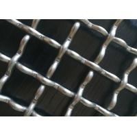 China Quarry Screen 8 Gauge Wire Mesh , Crimped Woven Wire Mesh Custom Length for sale