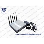 China WiFi 3G 4G Cell Phone Scrambler 2400 - 2500MHz Compact Design CE Certificated for sale