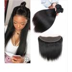 13 X 4 Lace Frontal 100% Malaysian Hair Extensions Length 8'' -   24'' for sale