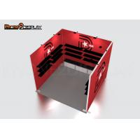 10ft Trade Show Exhibit Booths Advertising Promotion Vector Frame 3x3 Exhibition Booth for sale
