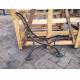 Antique Cast Iron Bench Legs Seat Frame European Art Design Anti - Aging for sale