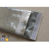 China Hook And Loop Open Fireproof Envelopes For Documents / Cash Passport supplier