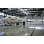 Waterproof Airplane Hangar Of Piping Truss Buildings for sale