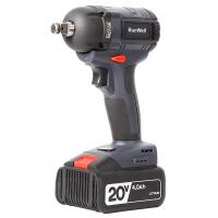 China Brushless Cordless battery operated impact wrench High Torque 20V 4.0Ah for sale