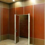 Removable Noise Protection Accordion Movable Room Dividers For Restaurant Decorative for sale