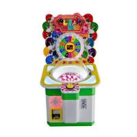 China Lollipop Arcade Pusher Candy Gift Vending Machine For Amusement Park / Museum for sale