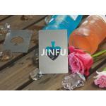 Light Weight Titanium Tableware Titanium Bottle Opener Playing Card Design for sale