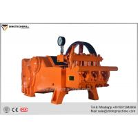 Drilling Rig Mud Pumps , Horizontal Double Cylinder Reciprocating High Pressure Mud Pump for sale