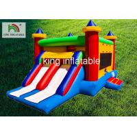 Digital Printing Inflatable Jumping Castle For School Activity Fire Retardant for sale
