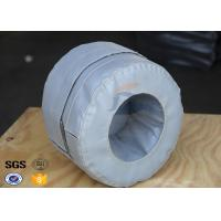 China 19Oz Silicone Coated Heat Insulating Materials For Transmitter Insulation Jacket for sale