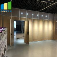 Office Decoration Movable Partition Wood Folding Partition Walls For Conference Hall for sale