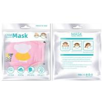Facial Mask Packaging Bags Plastic Zipper Pouch With Clear Window for sale